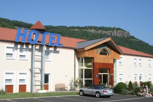 Hôtel La Colombiere Cantal : Hotel near Autrac