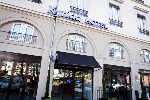 Kyriad Lyon Centre - Perrache : Hotel near Sainte-Foy-lès-Lyon