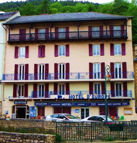 Hotel De l'Europe : Hotel near Saint-Sauveur-Camprieu