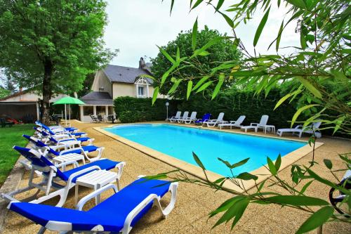 Le Relais des Gourmands : Hotel near Thégra