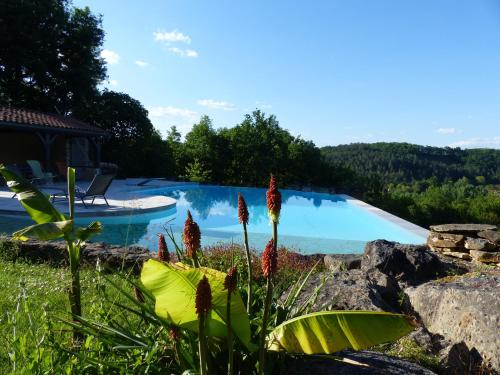 Chambres D'Hôtes Les Boudines : Bed and Breakfast near Marnac