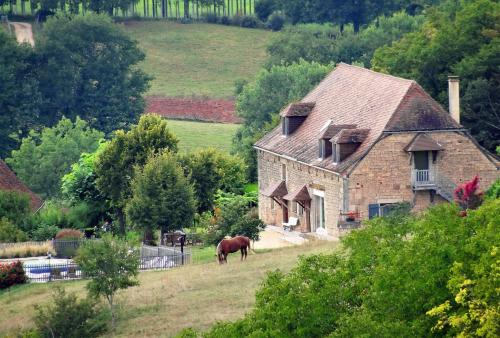 Le Domaine du Cerneau : Bed and Breakfast near La Chapelle-Saint-Jean
