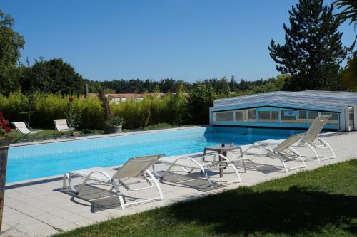 Domaine des Chais : Hotel near Tesson