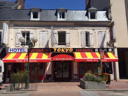 Hotel Restaurant Tokyo : Hotel near Bonneville-sur-Touques