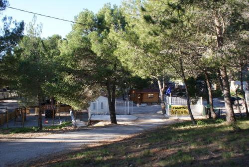 Camping Le Bois De Pins : Guest accommodation near Opoul-Périllos