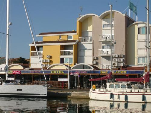 Hôtel Port Beach : Hotel near Gruissan