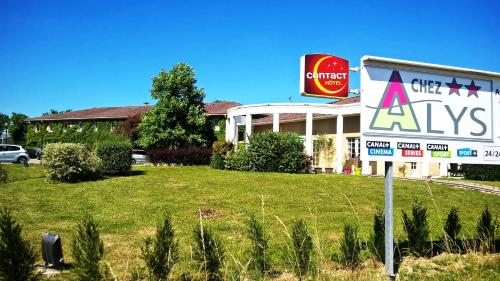 Contact Hotel ALYS Bourg en Bresse Ekinox Parc Expo : Hotel near Saint-André-le-Bouchoux