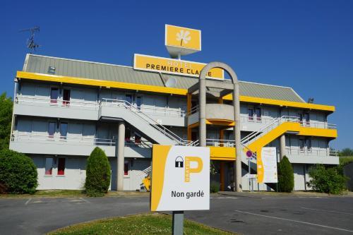 Premiere Classe Laon : Hotel near Étouvelles