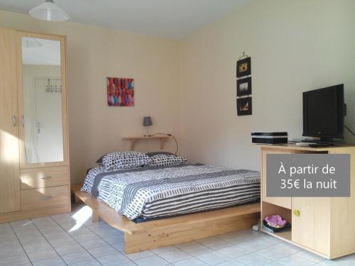 Appart Hôtel L'Angélique : Apartment near Chauray