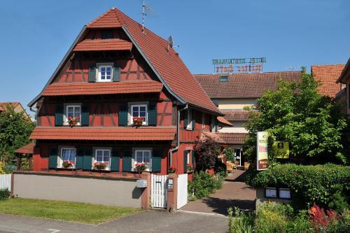 Hôtel Restaurant Ritter'hoft : Hotel near Eberbach-Seltz