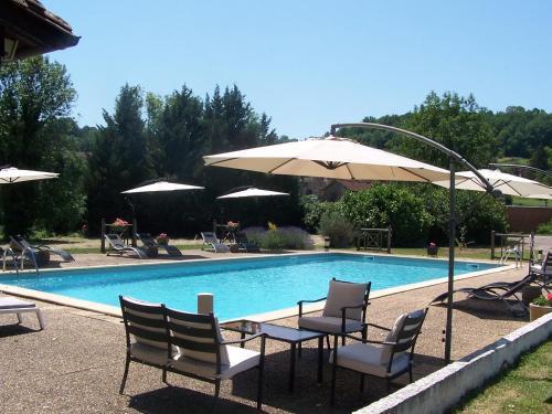 Domaine de Granval Chambres d'Hôtes : Guest accommodation near Teyssieu