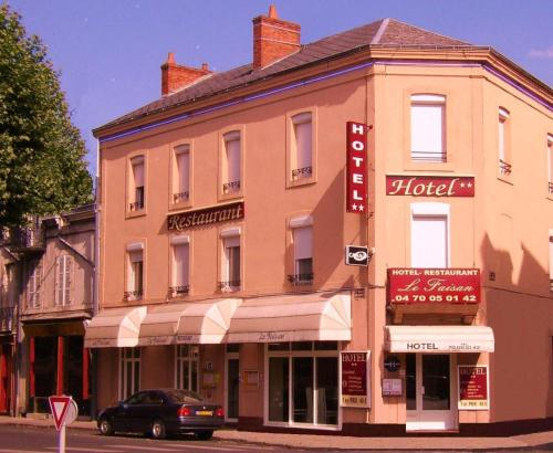 Hôtel Le Faisan : Hotel near Chazemais