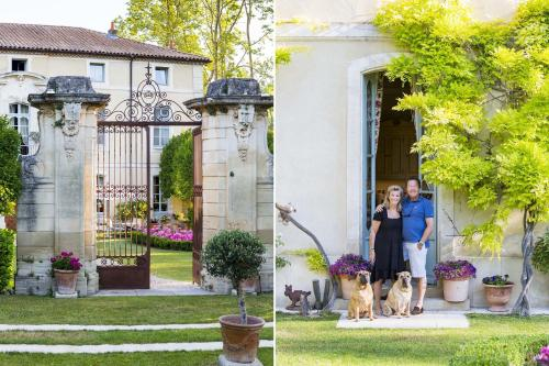 Chateau Talaud : Bed and Breakfast near Loriol-du-Comtat