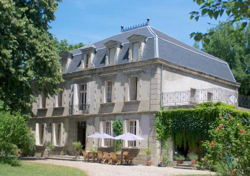Château de Dournès : Guest accommodation near Blan