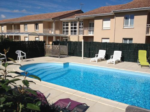 Appart-Hotel Le Patio d'Argenton : Guest accommodation near Luzay