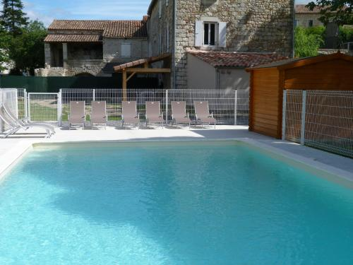 La Bastide des Borels : Guest accommodation near Saint-Genest-de-Beauzon