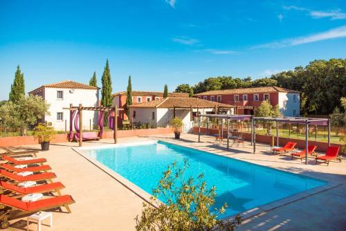 Domaine le Milos : Hotel near Saint-Geniès-des-Mourgues