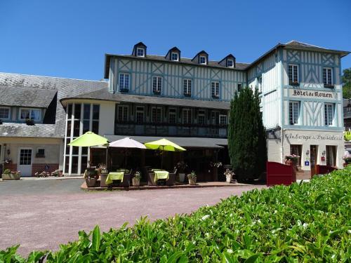 Logis L'auberge Du President : Hotel near Saint-Pierre-de-Cormeilles