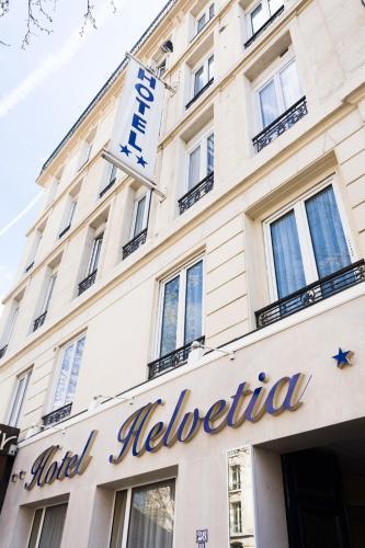 Helvetia : Hotel near Paris 12e Arrondissement