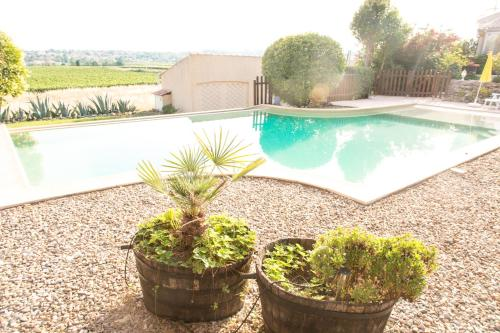 Domaine Sant Apolis : Guest accommodation near Prades-sur-Vernazobre