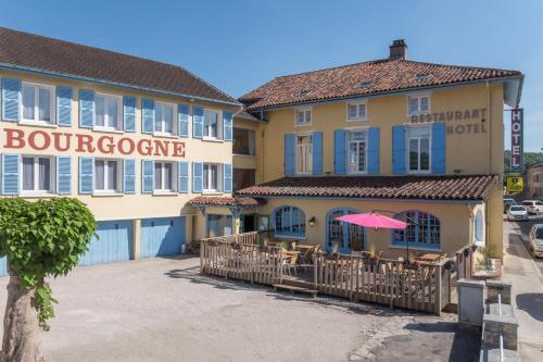 Hotel Le Bourgogne : Hotel near Domsure