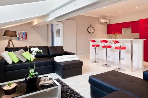 Appartement de charme en plein centre de Marseille : Apartment near Marseille 8e Arrondissement