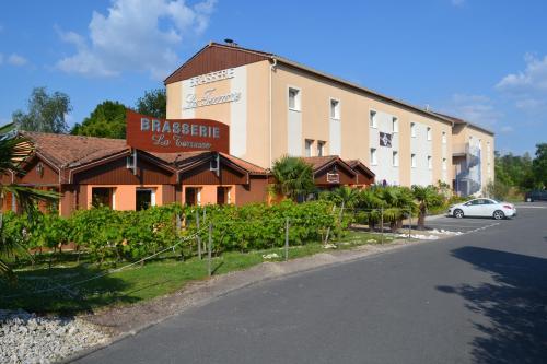 Hotel Restaurant Bel Air Bordeaux Aéroport : Hotel near Le Haillan