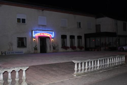 Hotel des Thermes : Hotel near Tollaincourt