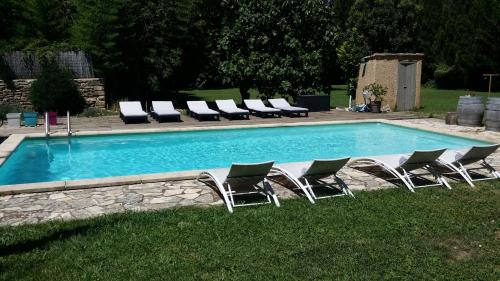 Villa des Figuiers : Guest accommodation near Lédenon