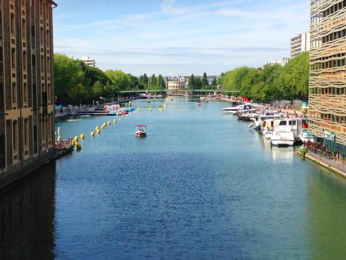 Paris on Water : Apartment near Paris 19e Arrondissement