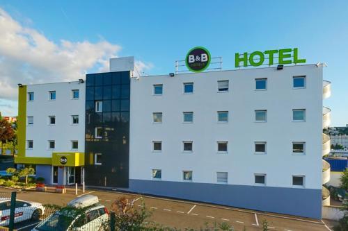 B&B Hôtel Saint-Etienne Monthieu : Hotel near Marcenod