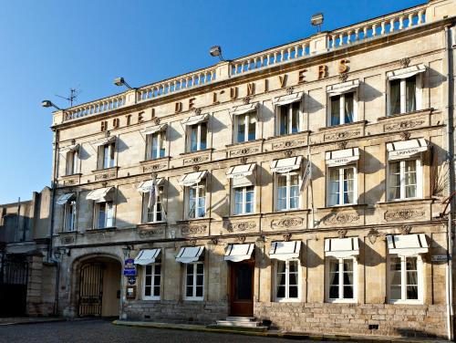 Najeti Hôtel de L'univers : Hotel near La Cauchie