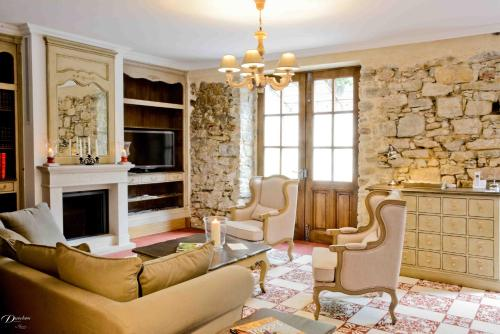 Demeure de la Carmine : Bed and Breakfast near Rieucros