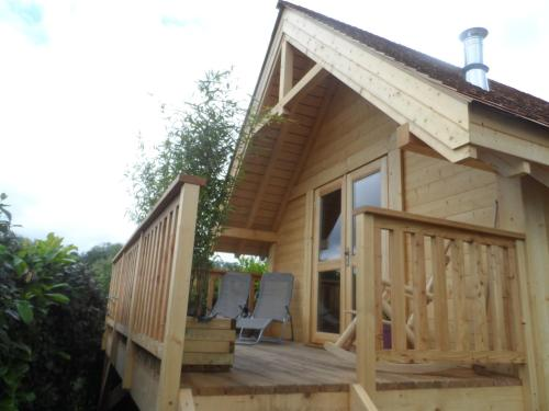 La Cabane D' I.s.a : Guest accommodation near Courset