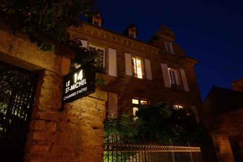 Le 14 St Michel : Bed and Breakfast near Néant-sur-Yvel