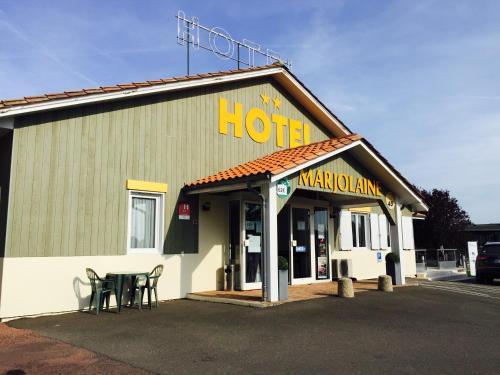 Hôtel Marjolaine : Hotel near Birac