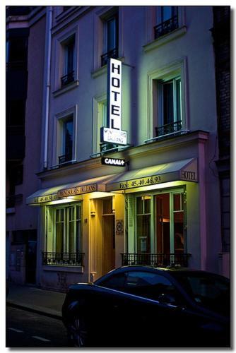 Hôtel Montsouris Orléans : Hotel near Montrouge