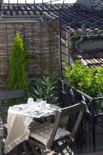 Une Âme à Nîmes : coté cour : Apartment near Nîmes