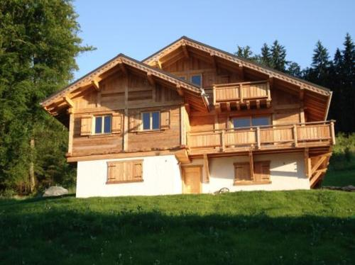 Le Caribou : Guest accommodation near Passy