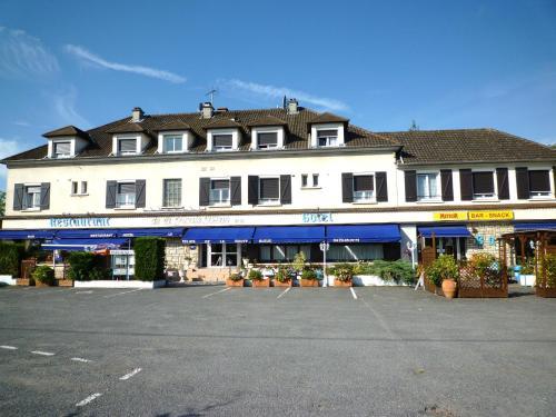 Le Relais de la route bleue : Hotel near Saint-Gérand-de-Vaux