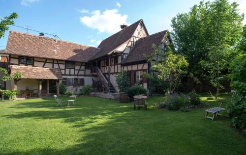 La Ferme de Marie : Guest accommodation near Reutenbourg