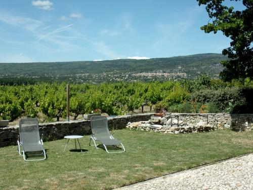 Les Granges : Bed and Breakfast near Rustrel