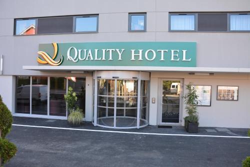 Quality Hotel Belfort Centre : Hotel near Romagny