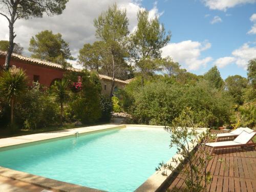 L'Ostal du Pic St Loup : Guest accommodation near Saint-Jean-de-Cuculles