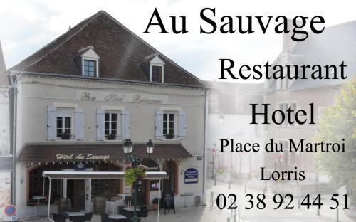 Au Sauvage : Hotel near Châlette-sur-Loing