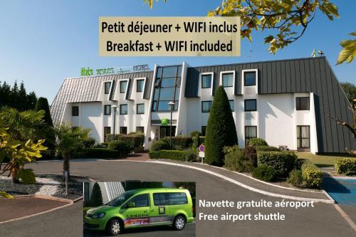 ibis Styles Bordeaux Aéroport : Hotel near Mérignac