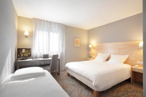 Hôtel des Frênes Euromédecine : Hotel near Les Matelles