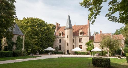 Château - Hôtel Le Sallay : Hotel near Langeron