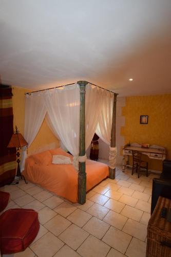Secrets De Brenne : Bed and Breakfast near Luzeret