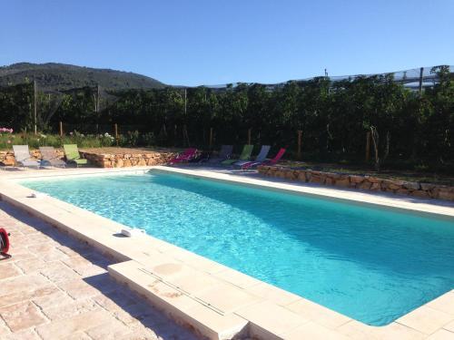 Les Jardins de Bouteille : Guest accommodation near Volx